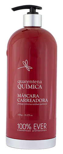 Máscara Carreadora - Quarentena Química - 100% Ever