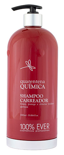 Shampoo Carreador - Quarentena Química - 100% Ever