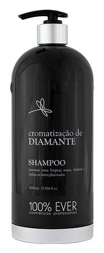Shampoo Profissional - Cromatização de Diamante - 100% Ever